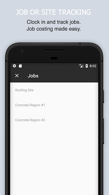 Managers can track jobs and project budgets in real time