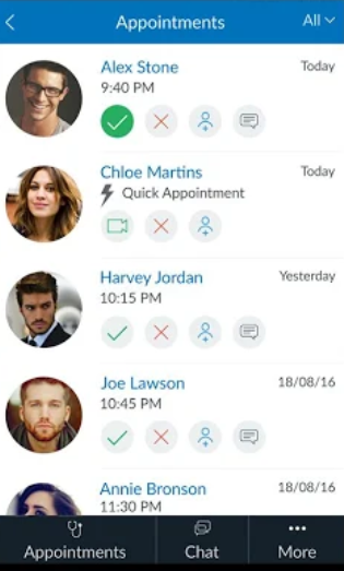 Certintell accept/decline appointments