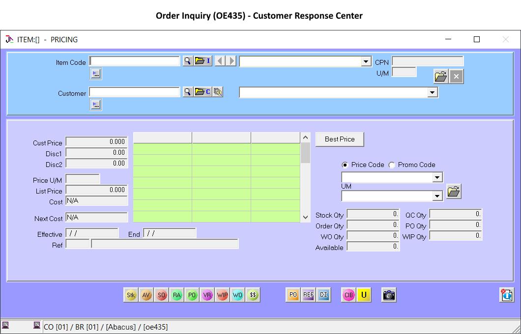 Central command for customer services representatives