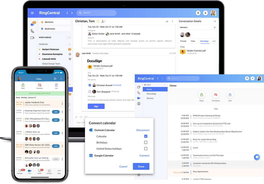 RingCentral MVP Software - 3