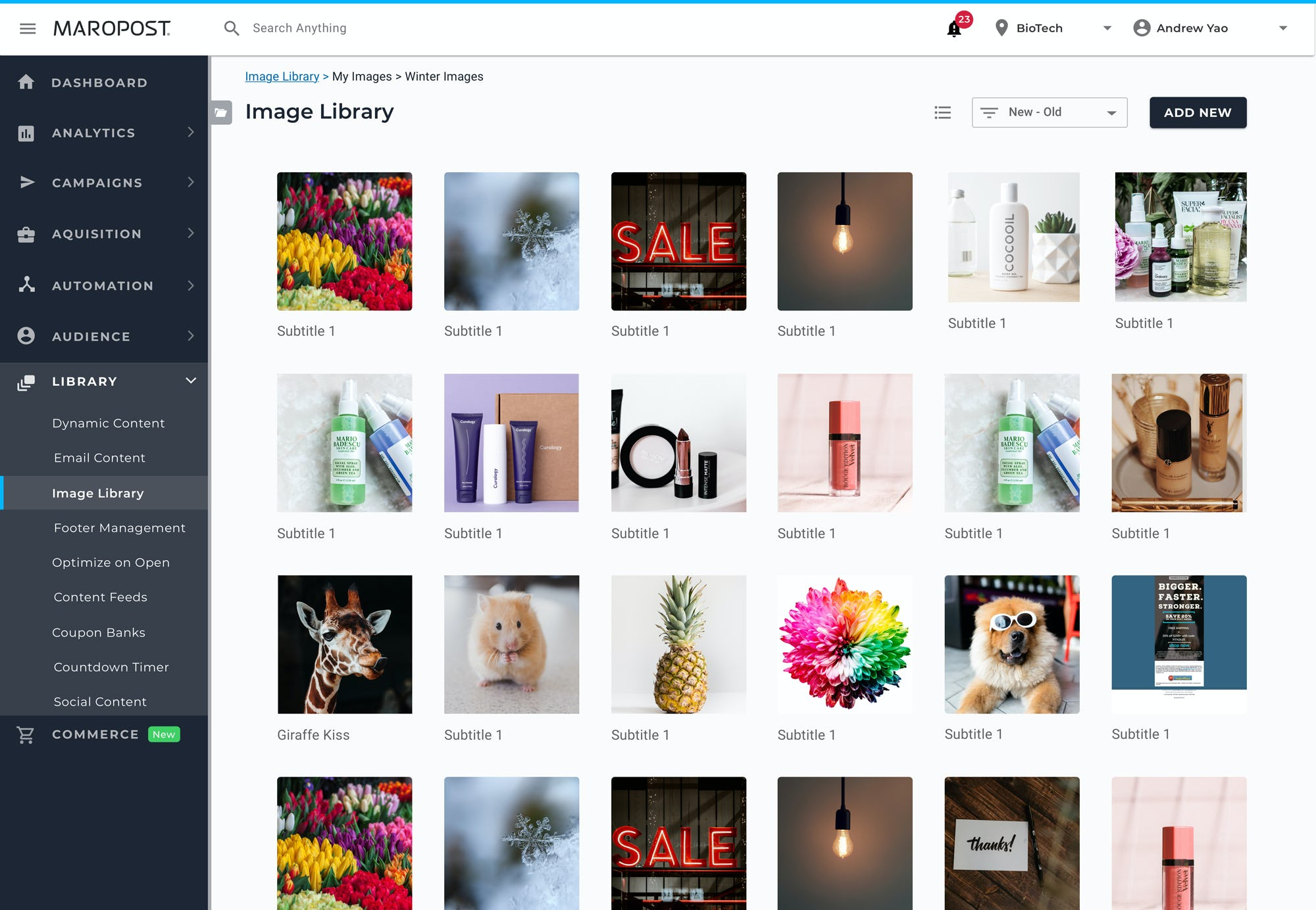 Maropost Software - Image Library