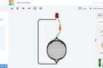 Tinkercad screenshot: Tinkercad circuit simulations
