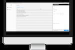 Gluru AI screenshot: Dashboard while creating a new 'Resolution'