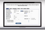eBizCharge screenshot: The tool is PCI compliant and ensures data security