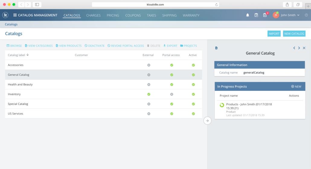 Kloudville Software - Catalog management %>