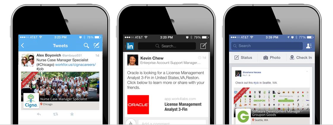 Work4 Software - Social referrals