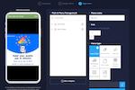 Capture d'écran pour Swing2App : Swing2App designing menu