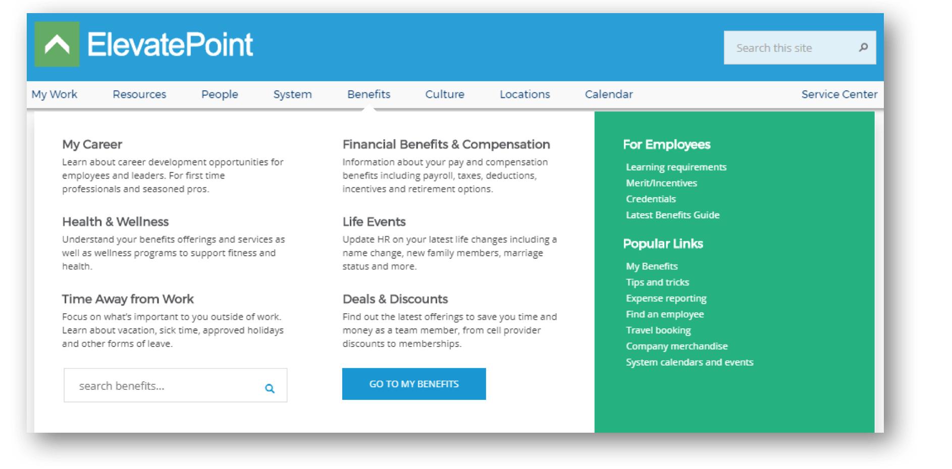 ElevatePoint benefits