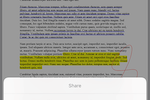 iBabs screenshot: iBabs allows users to annotate meeting documents