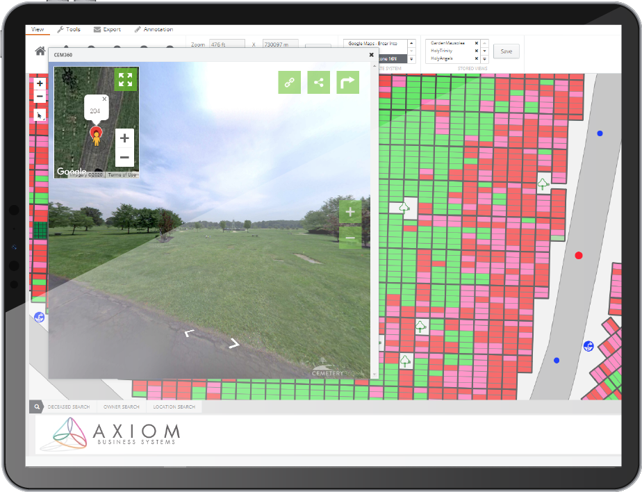 Axiom Cemetery Management Suite Software - 3