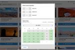 RESMARK screenshot: RESMARK activity booking dashboard