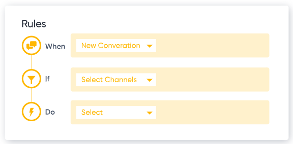 CommBox configure rules screenshot