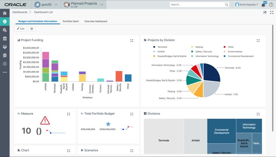 Oracle Primavera Cloud Logiciel - 1