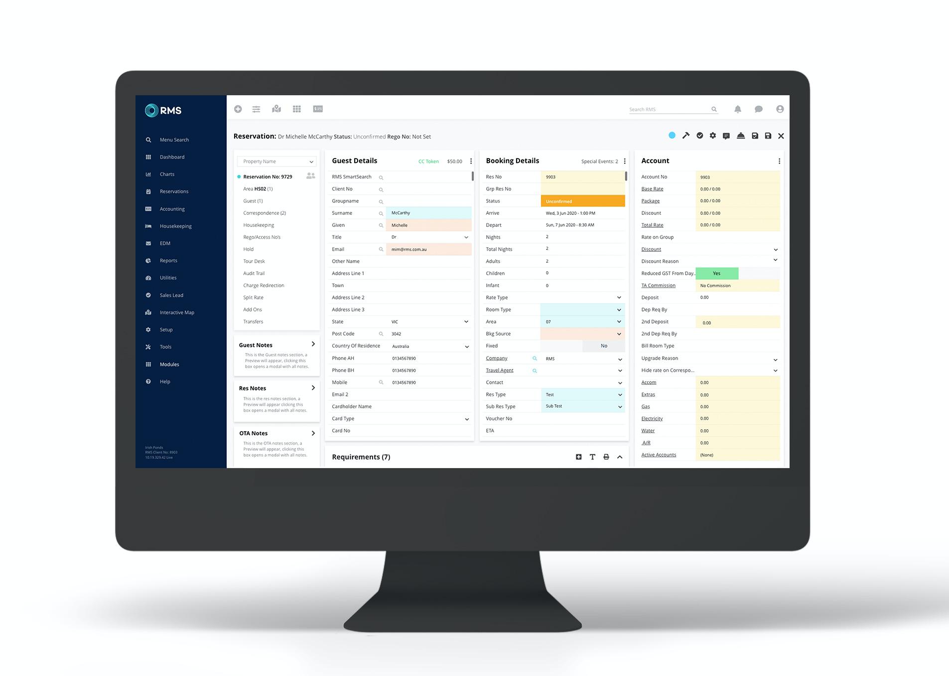 RMS Cloud Software - 3