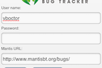 MantisBT screenshot: xMantisTouch is a companion web app that provides an optimized, responsive UI for MantisBT that allows users to login on iPhone, Android and Windows Phone