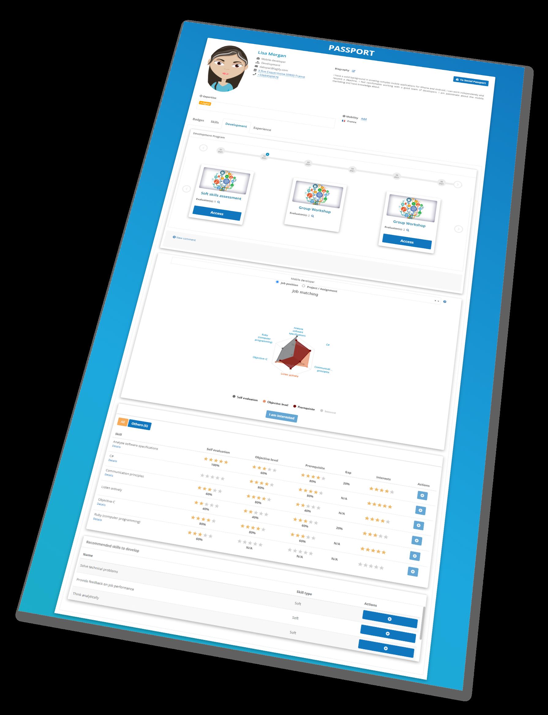 SkillsBoard Software - Talent Management & Performance review