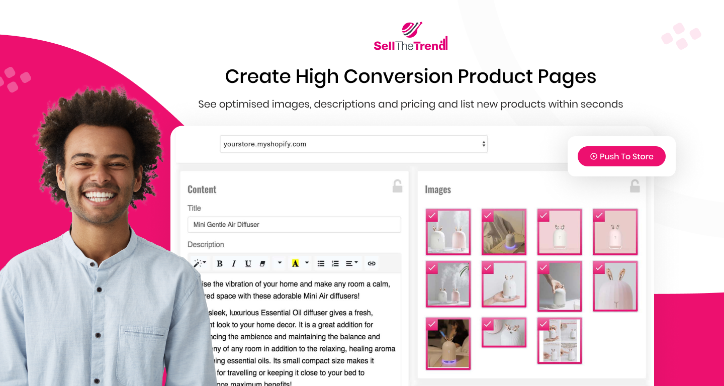 Create High Conversion Product Pages in Seconds