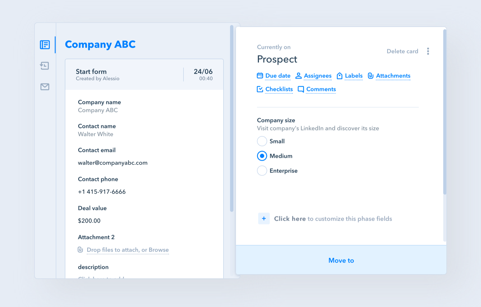 Pipefy Software - Pipefy Customize workflows