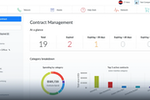 Genuity IT Admin Suite screenshot: Genuity IT Admin Suite contract management