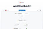 OutSystems screenshot: Workflow Builder: Empower business experts to turn ideas into apps in minutes.