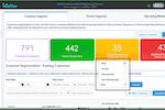 MioSalon screenshot: MioSalon customer segmentation
