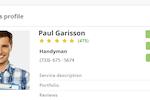 TenantCloud screenshot: Create ServicePro profiles