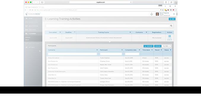 Cognibox CMS eLearning