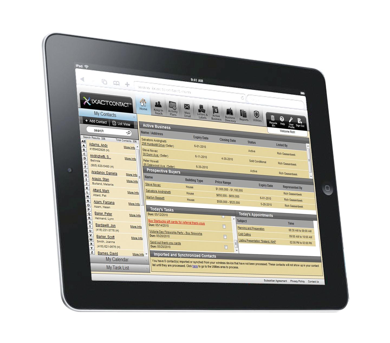 IXACT Contact on the iPad