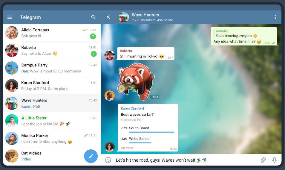 Telegram Software - Telegram Chat