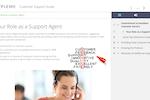 Xyleme screenshot: Xyleme customer support guide