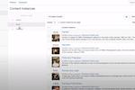 Cloud CMS screenshot: Cloud CMS content instances