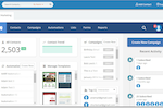 BigContacts screenshot: Seamless integration of CRM & Email Marketing software