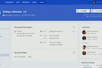Planning Center screenshot: Planning Center members' profile