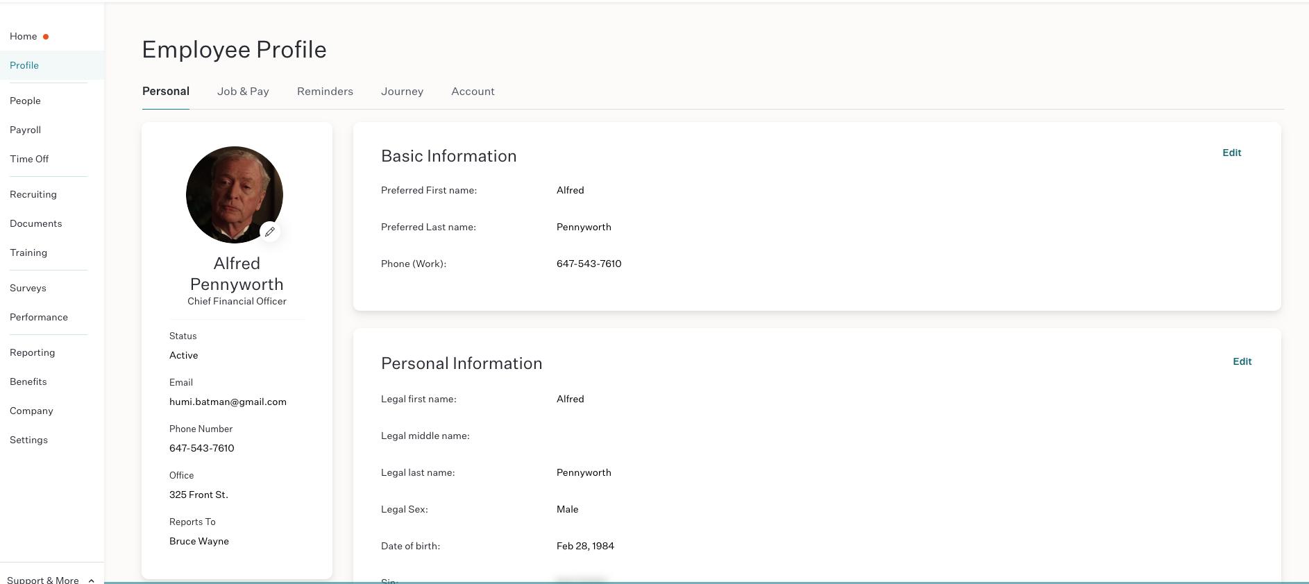 Humi Software - Humi Employee Profiles