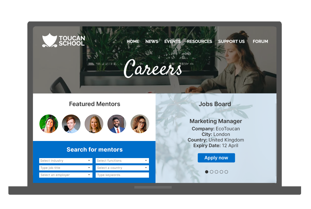 ToucanTech Software - Your community can fuel careers