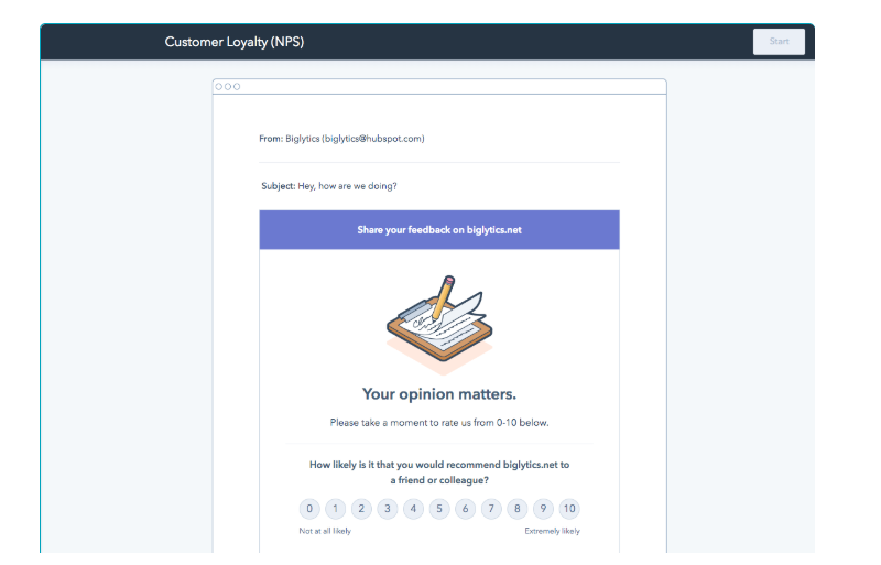 HubSpot Service Hub customer loyalty screenshot