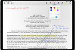 Diligent Boards screenshot: Annotate any document from your preferred device