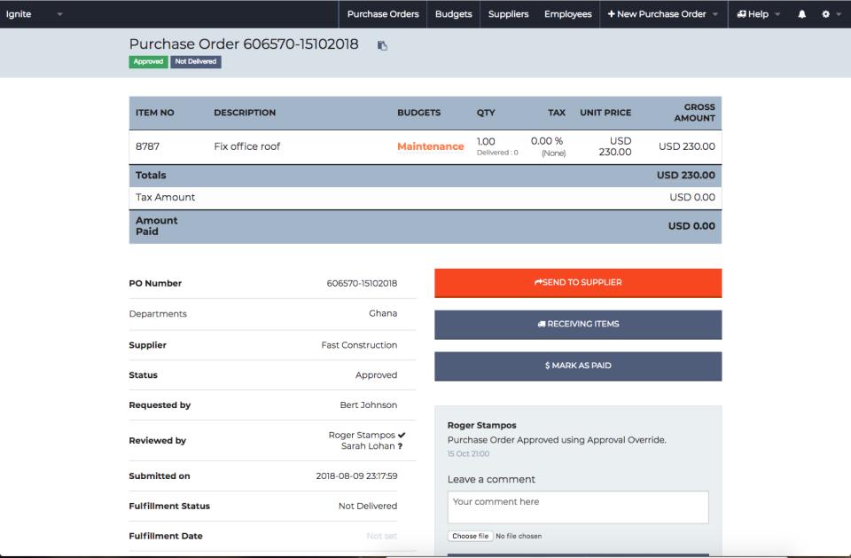 ProcurementExpress.com Software - 2