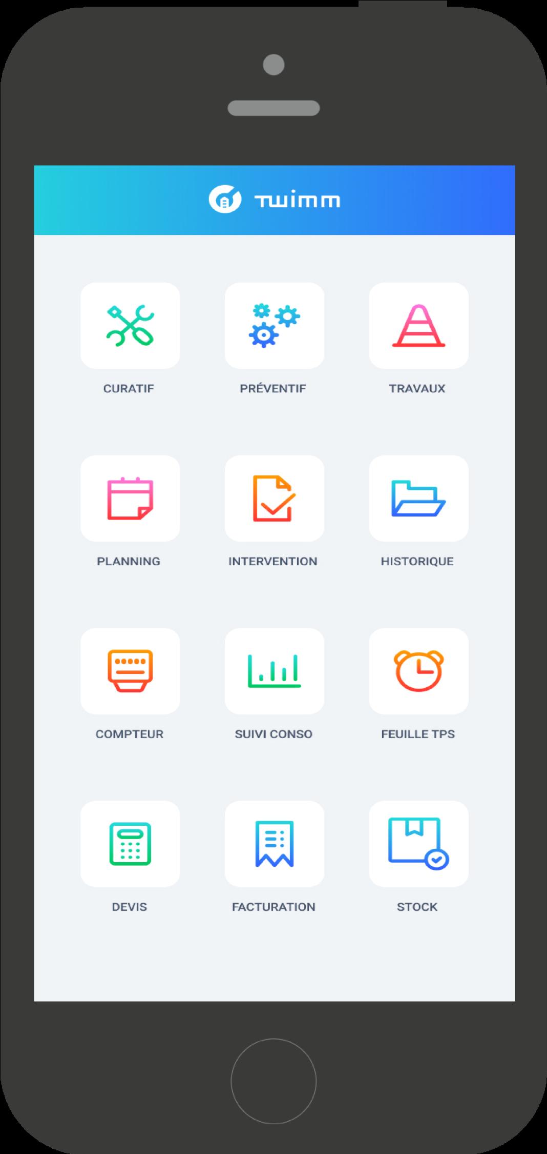 Twimm mobile application