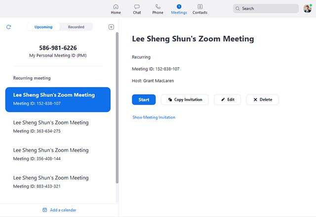 Zoom Meetings Logiciel - 3