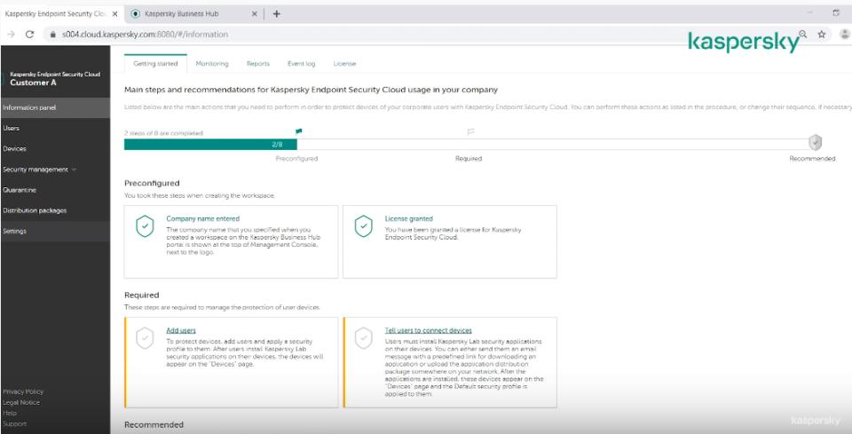 Kaspersky Endpoint Security Software - 1