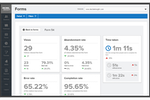 Decibel Insight Screenshot: Quantify the effectiveness of your website forms and identify exactly which fields frustrate your visitors and cause them to abandon.