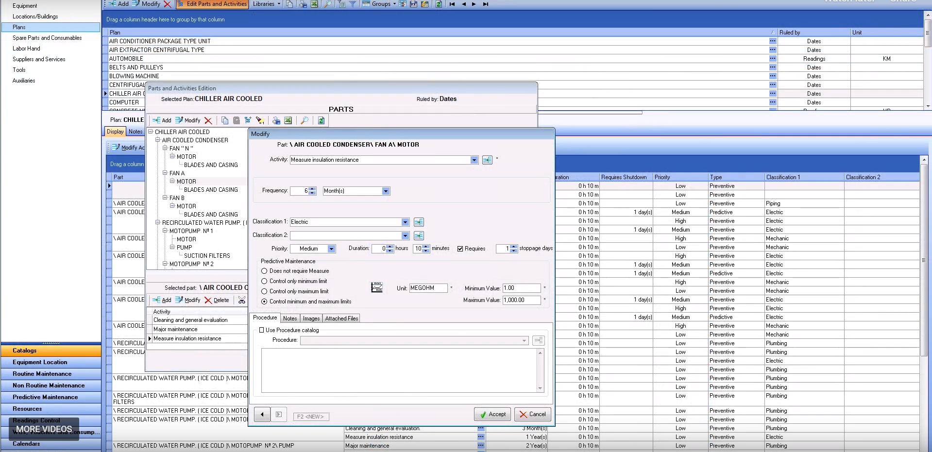 MPSoftware edit activities