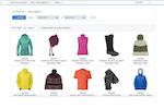 Salesforce B2C Commerce screenshot: Salesforce B2C Commerce customer basket analysis
