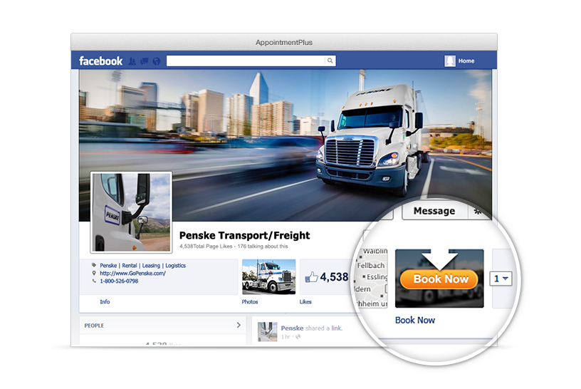 Book Now Button on your Facebook Page makes it easy for Customers to schedule appointments.