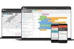 vWorkApp screenshot: vWork scheduling portal and mobile app