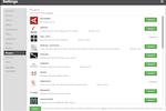 TrueSight Pulse screenshot: TrueSight Pulse monitoring-as-a-service: 3rd party application plugin panel