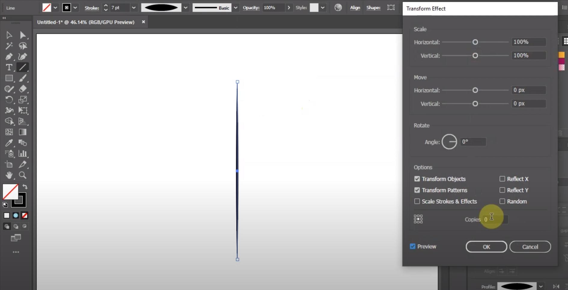 Adobe Illustrator effects