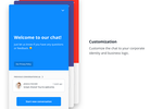 Userlike Screenshot: Custom chat design