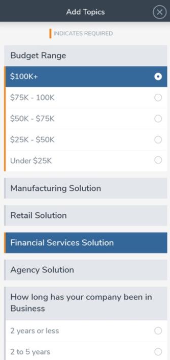 atEvent Software - atEvent add topics